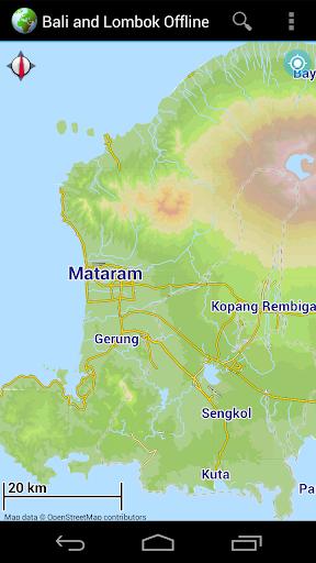 Offline Map Bali Lombok