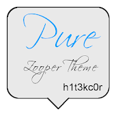 Pure Zooper Theme