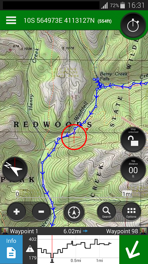 ViewRanger GPS - Trails & Maps - screenshot