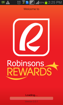 Robinsons Rewards - screenshot