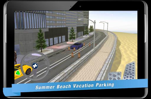 賽車遊戲必備免費app推薦|夏のビーチでの休暇の駐車線上免付費app下載|3C達人阿輝的APP
