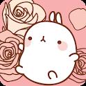 몰랑이 플라워 카카오톡 테마 icon