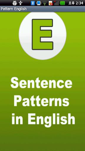 Sentence Patterns in English