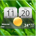 Download MIUI Digital Weather Clock APK for Android Kitkat