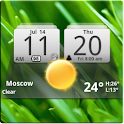 MIUI Digital Weather Clock logo