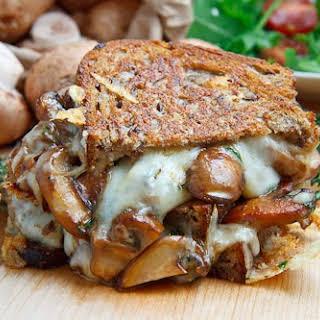 Mushroom Grilled Cheese Sandwich (aka The Mushroom Melt).