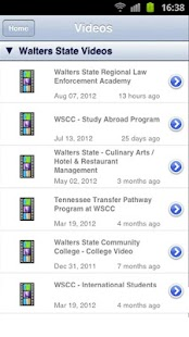 Walters State Comm. College- screenshot thumbnail