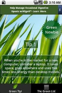 Go Green- screenshot thumbnail