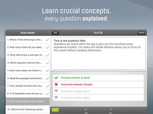 【免費教育App】GED® Exam Prep 2015-APP點子