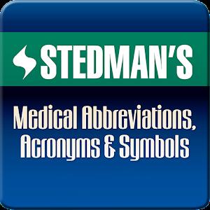 Stedmans Medical Abbreviations