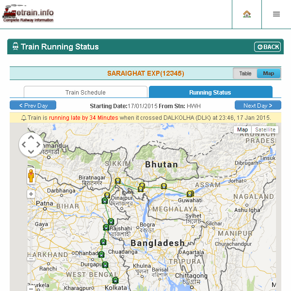 Indian Railways Etrain Info Android Apps On Google Play
