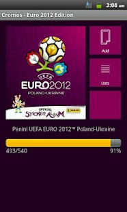 Cromos - Euro 2012 Edition - screenshot thumbnail