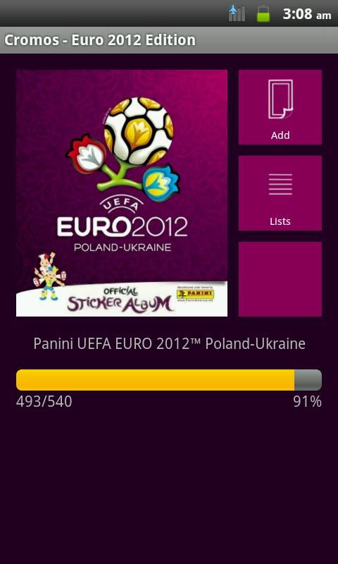 Cromos - Euro 2012 Edition - screenshot