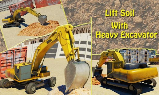 Heavy Excavator 3D Simulator 2- screenshot thumbnail