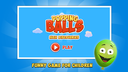 Pop Balloons - Baby game