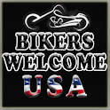 Bikers Welcome USA icon