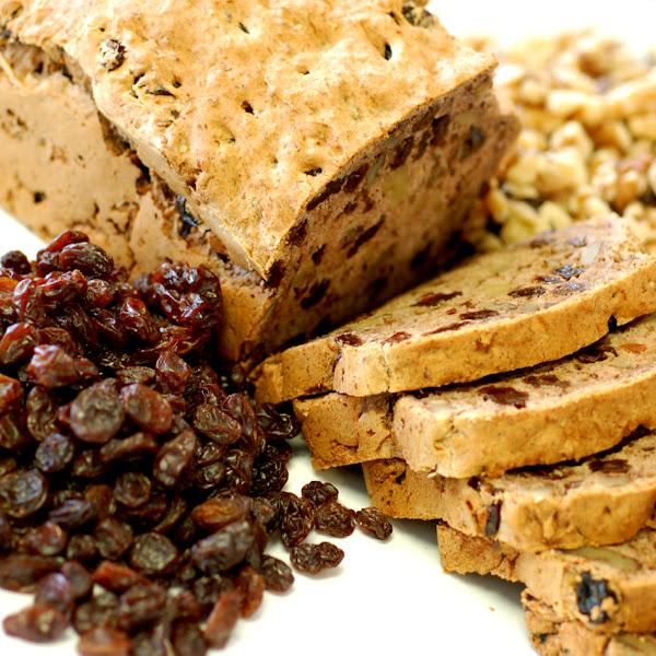 C.R.A.W. Bread (stands for Cinnamon Raisin and Walnut)