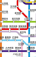 Screenshot of Shanghai Subway Map