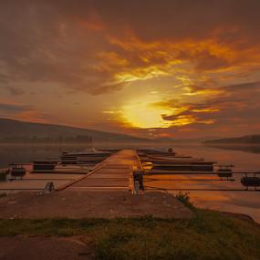 i can only imagine by Rose-marie Karlsen - Landscapes Sunsets & Sunrises ( clouds, nature, sunset, landscape, norway )