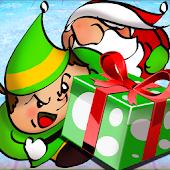 Christmas Elf VS. Santa Hockey