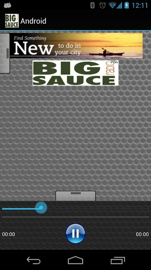 The Big Sauce Radio Show - screenshot