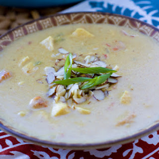 Creamy Chicken Curry Soup #SouperJanuary.