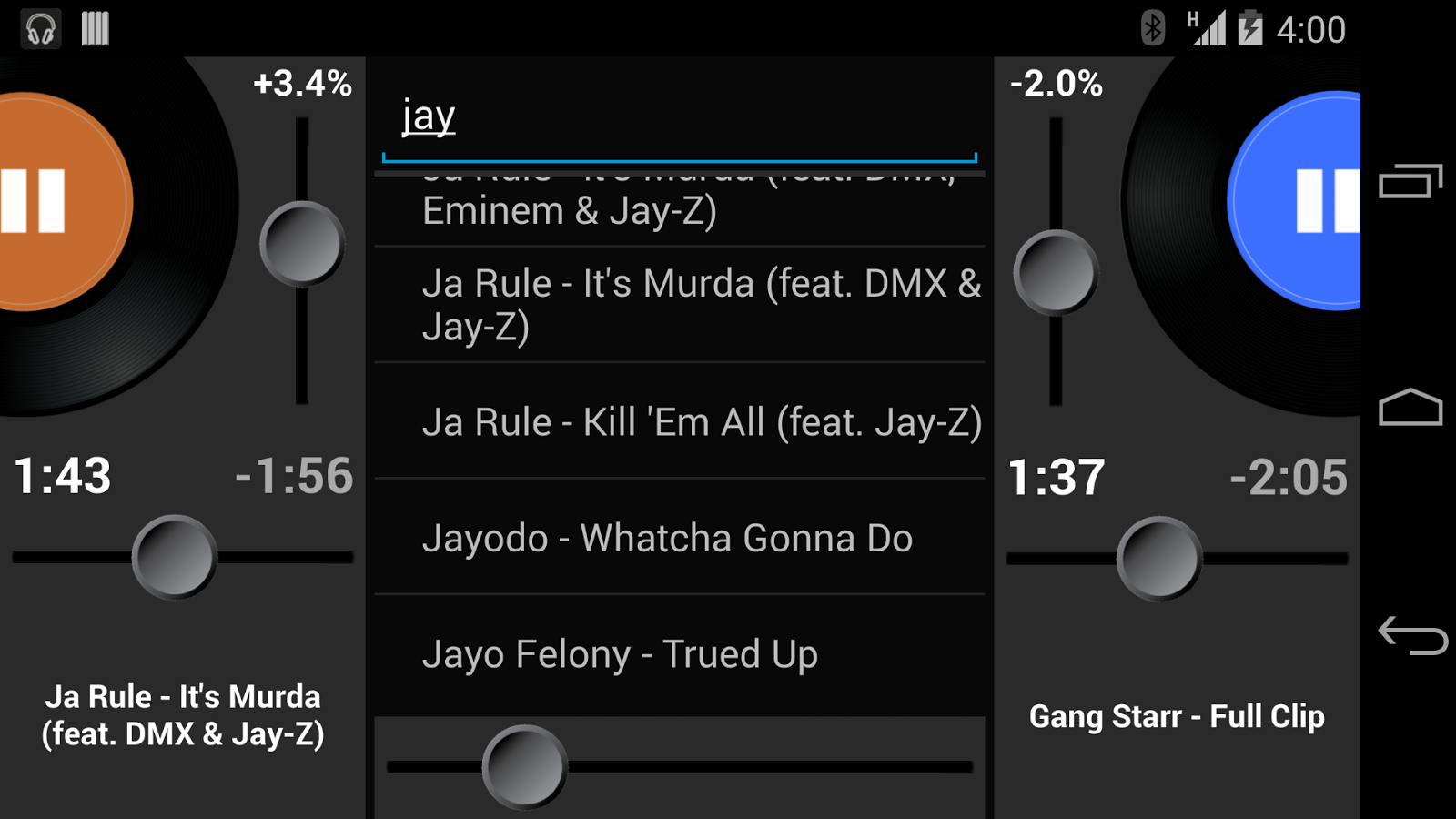 Party Mixer - DJ player app- screenshot