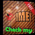 Check my IMEI icon