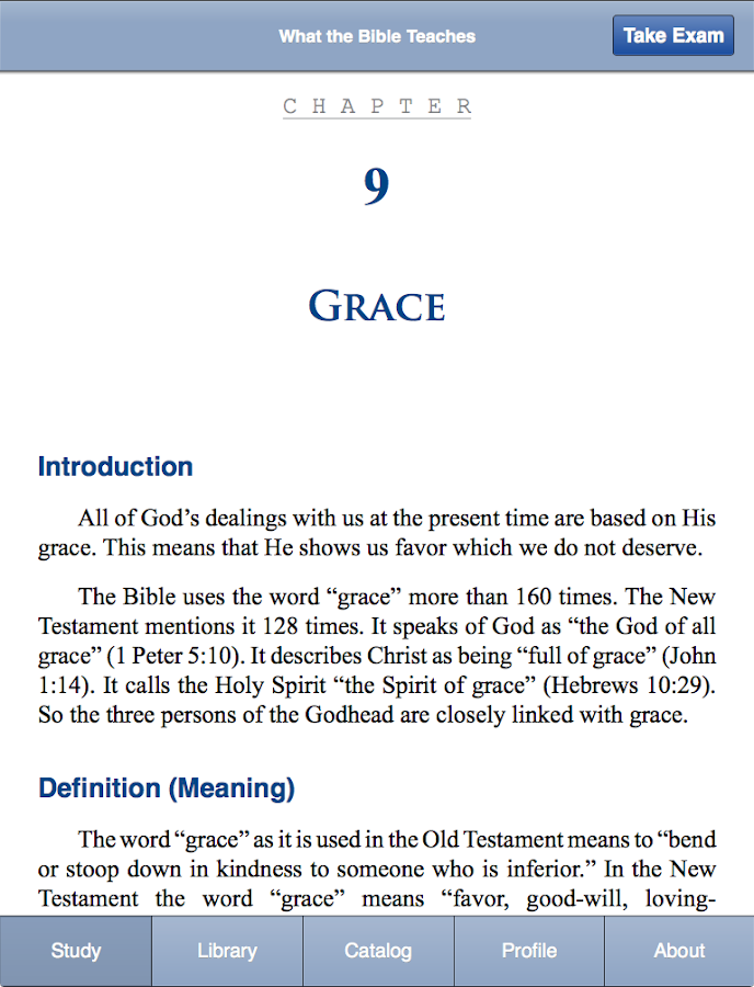 Bible Study- screenshot