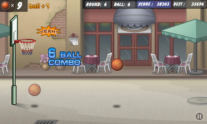 Basketball Shoot- screenshot