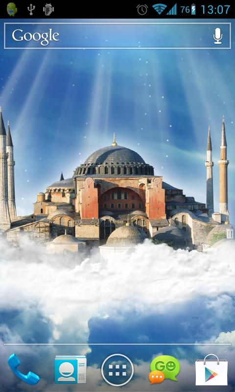 Hagia Sophia Live Wallpaper - screenshot