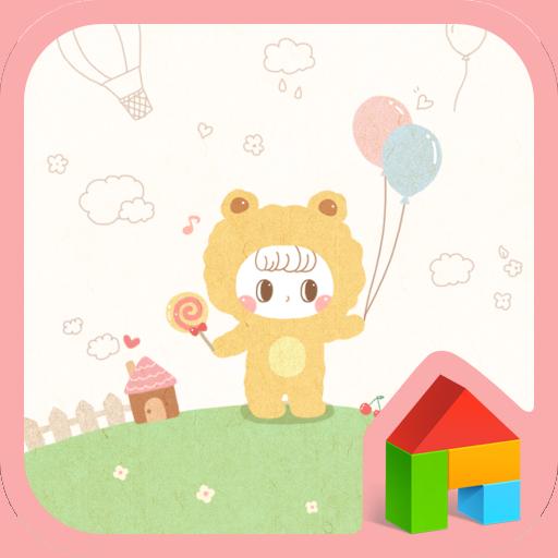 petit honey happy dodol theme 個人化 App LOGO-APP試玩
