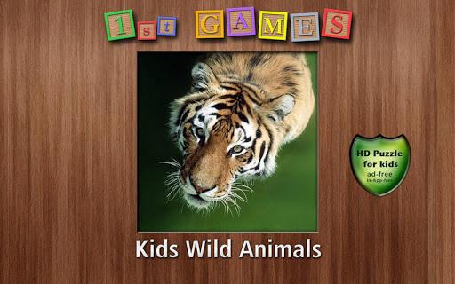 1st Games Kids Wild Animals