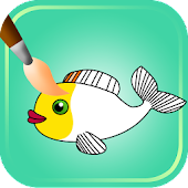 Fish Coloring Games