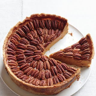 Mile-High Pumpkin-Pecan Pie
