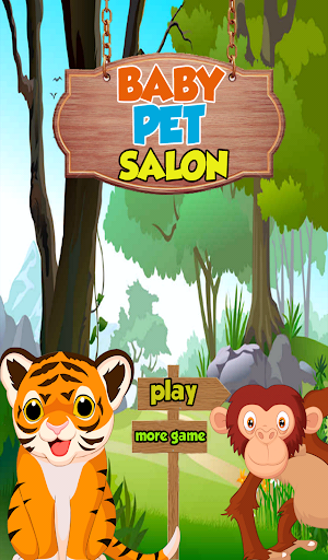 Pets salon girls games