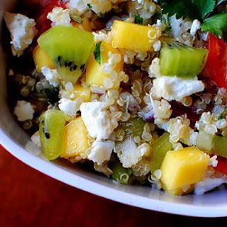 Kiwi Mango Quinoa Salad