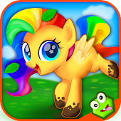 Little Pony Makeover Kids Game