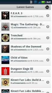 Trueachievements Mobile- screenshot thumbnail