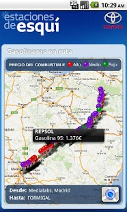 Estaciones de Esquí- screenshot thumbnail