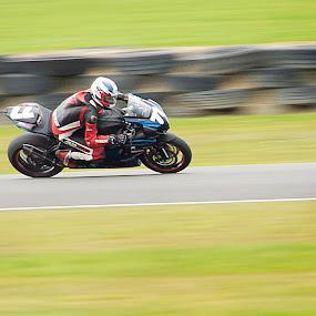 Manfield bike by Mark Anolak - Sports & Fitness Motorsports ( motorbike, speed, bikes, movement, motorcycle, motorsport, new zealand )