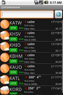 Avilution QuickWeather- screenshot thumbnail