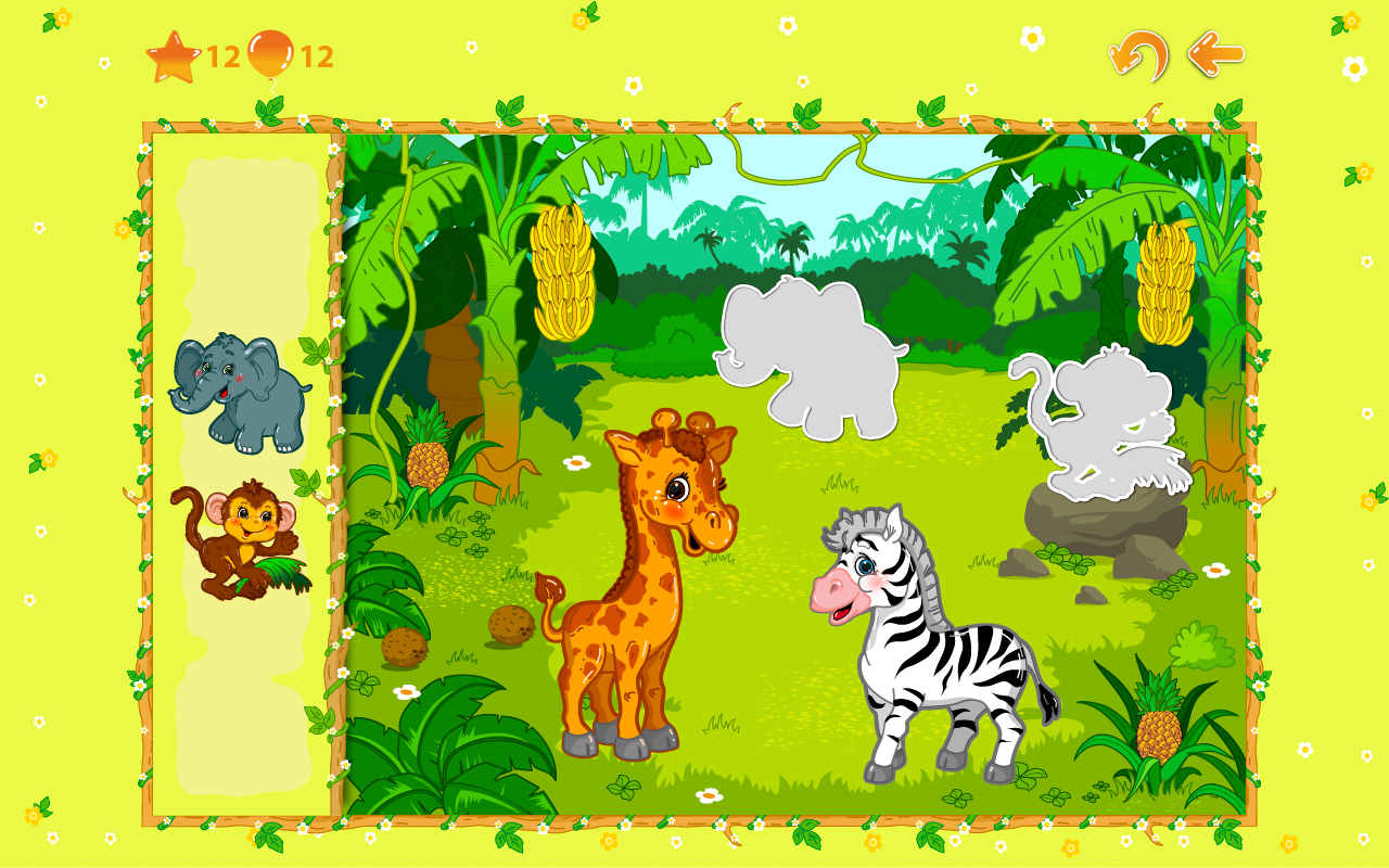 Animal puzzles for toddlers 1+ screenshot #10