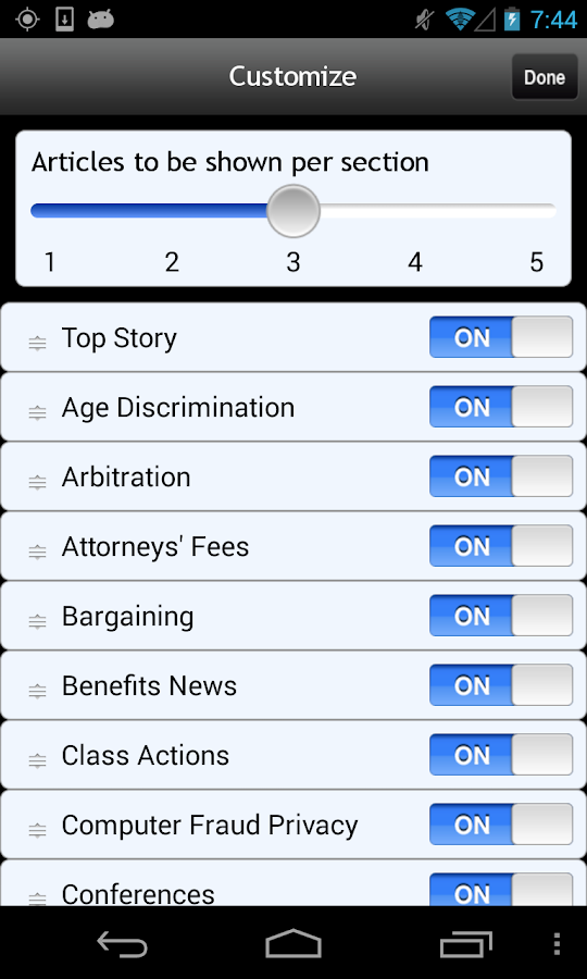 ELD Mobile for Android - screenshot