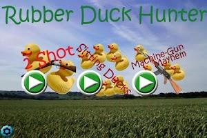 Screenshot of Rubber Duck Hunter Free