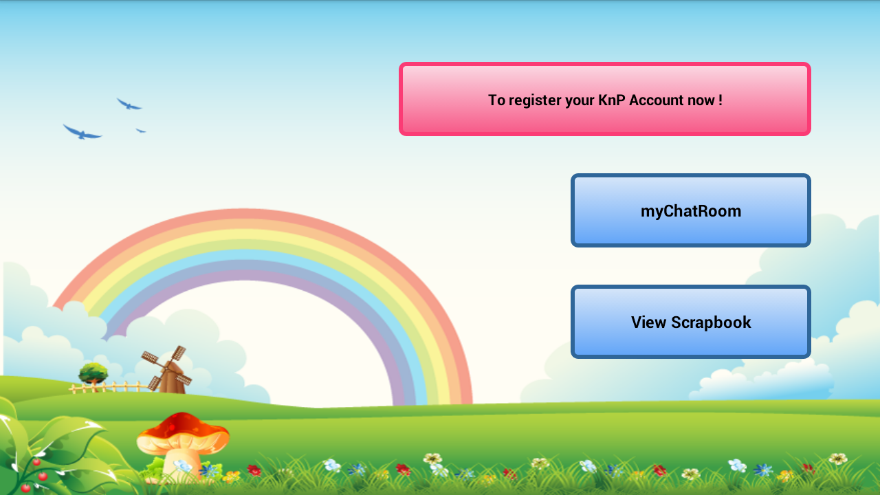 KIDconnect - screenshot