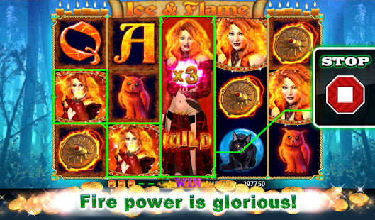 Ice and Flame Slot - screenshot thumbnail