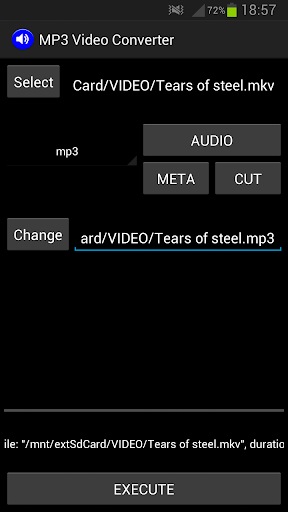 mp3视频转换器