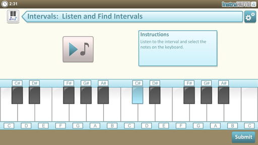 InstruNOTE Ear and Interval 1.2.1 screenshots 5