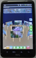 Screenshot of Gallery3D for SamsungGalaxyS